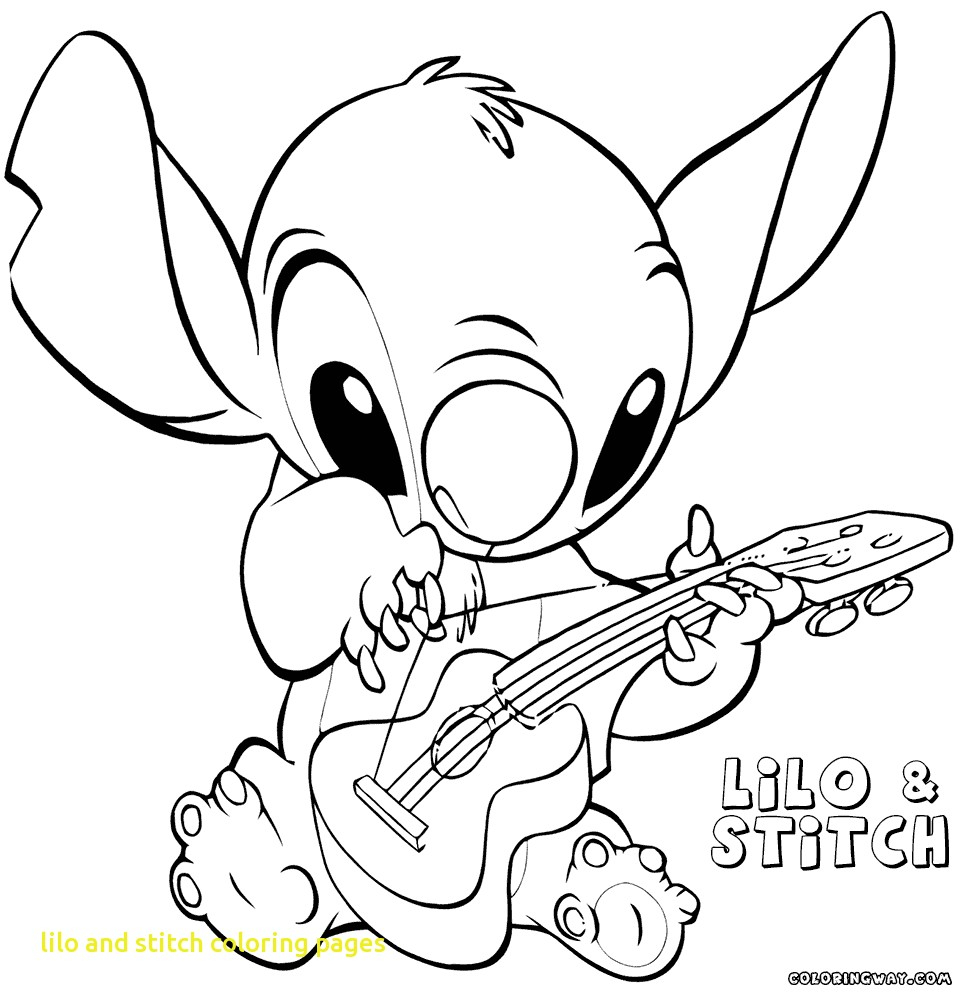 Lilo and stich to color for children - Lilo And Stich Kids ... | 1000x968