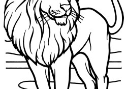 Lion Coloring Pages Lions Coloring Pages Free Coloring Pages