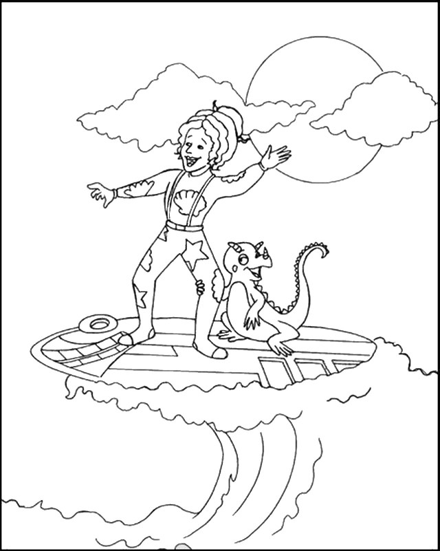 Magic School Bus Coloring Pages The Magic School Bus Coloring Pages