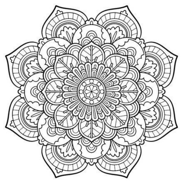 Mandala Coloring Pages Coloring Pages Mandala Engaging Free Printable Mandalas 18