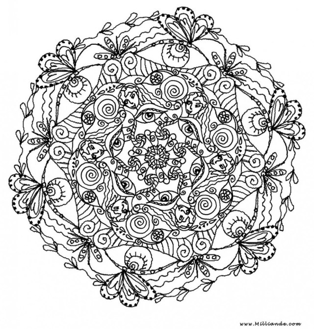 Mandala Coloring Pages Printable Mandala Coloring Pages For Adults Free Free Printable Mandala