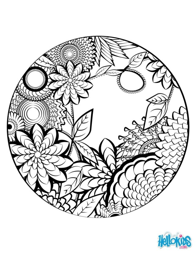 Mandala Coloring Pages Printable Mandalaloring Animals For Kids Free Games Real Pages Printable To
