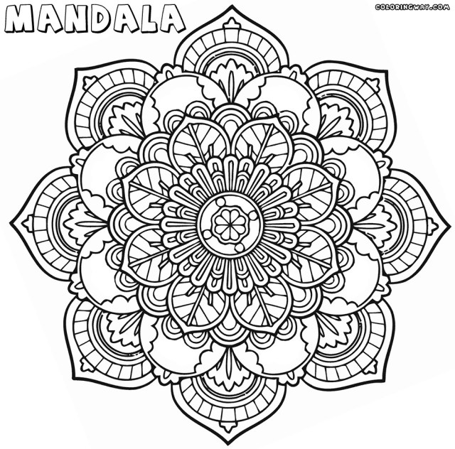 Mandala Coloring Pages Printable Trend Mandala Coloring Pages Printable 51 For Your Coloring Pages