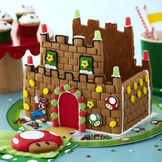 Mario Bros Birthday Cake Super Cake Mario Brothers Cakes Ideas Super Mario Bros Birthday Cake