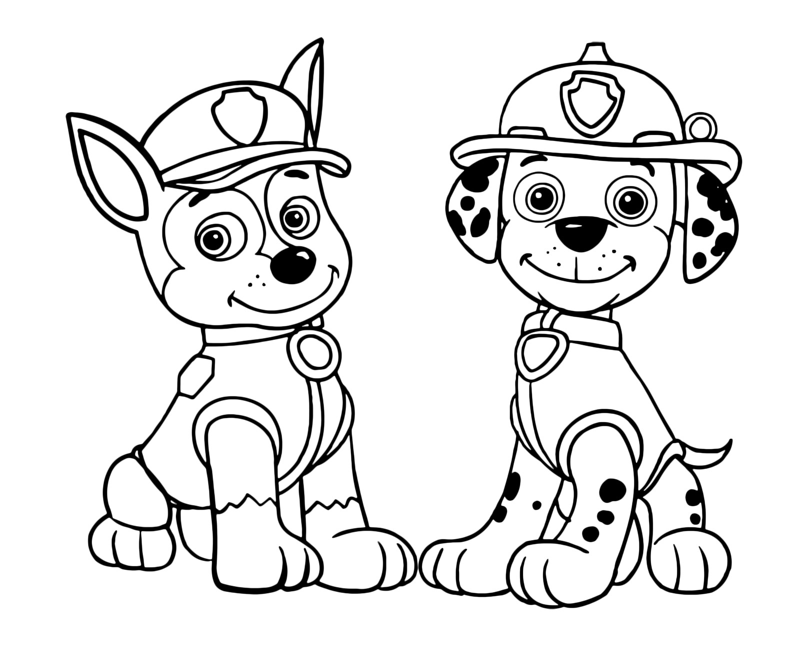 - Marshall Paw Patrol Coloring Page 20 Best Ideas Paw Patrol