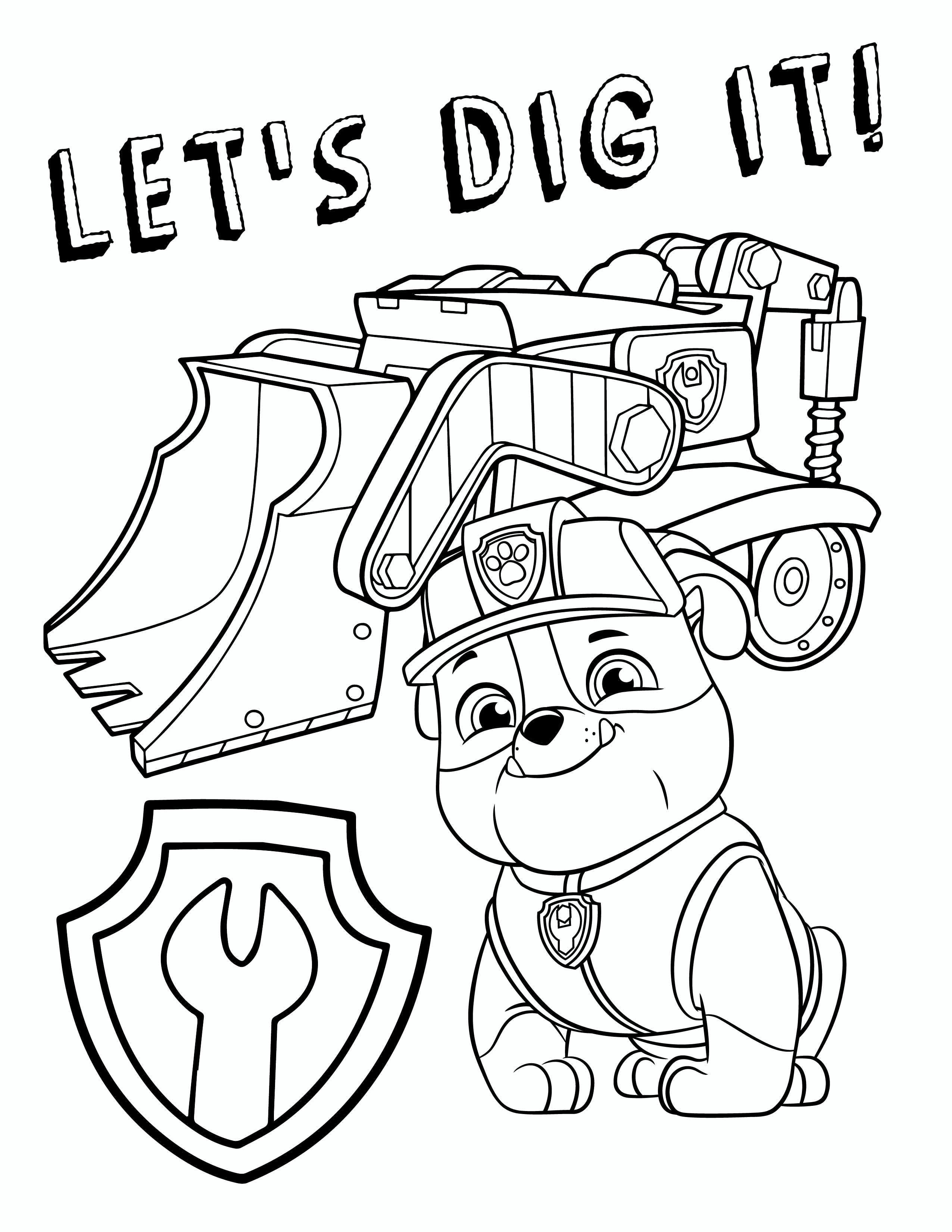 - Marshall Paw Patrol Coloring Page Coloring Pages Paw Patrol