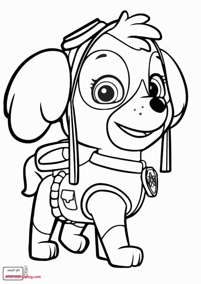 23 amazing image of marshall paw patrol coloring page