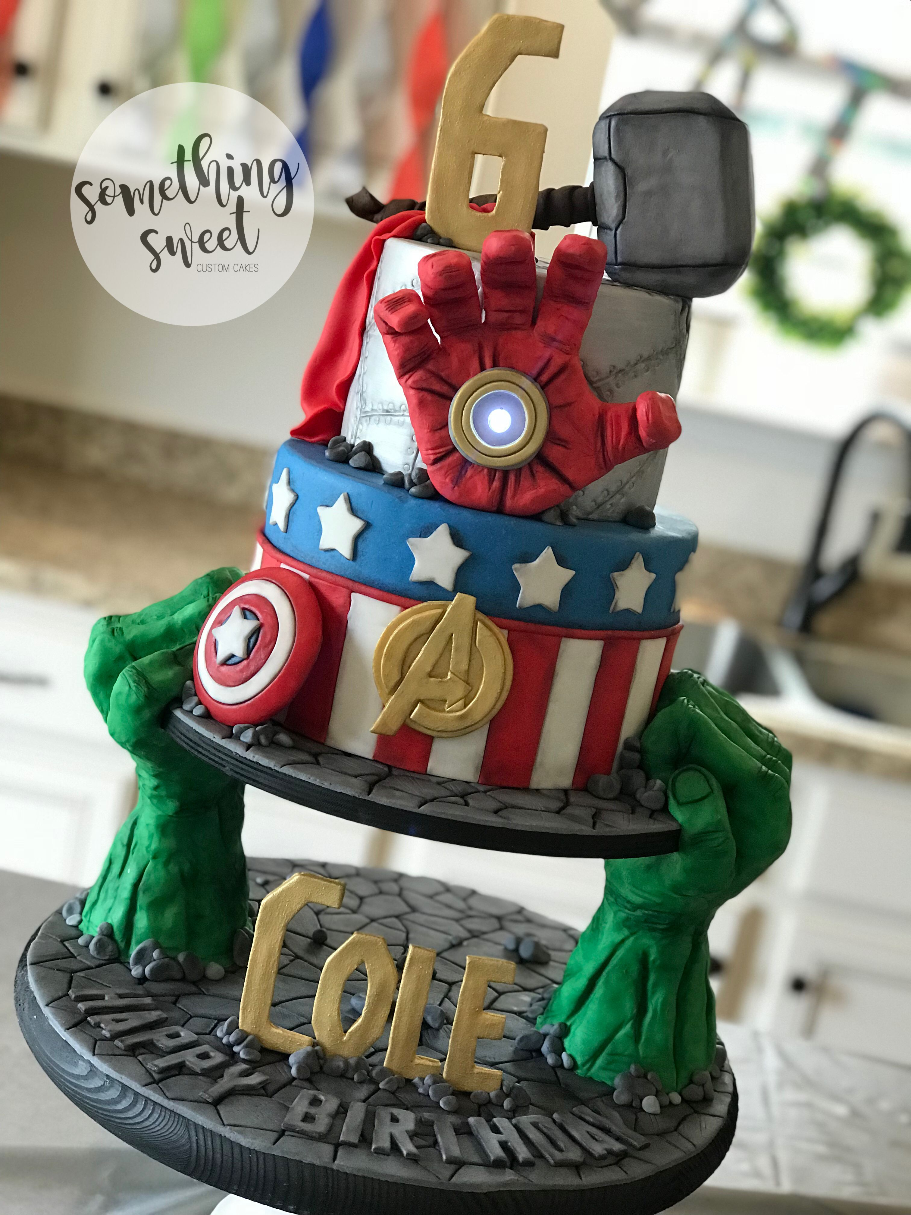 Excellent 30 Brilliant Picture Of Marvel Birthday Cakes Birijus Com Funny Birthday Cards Online Alyptdamsfinfo