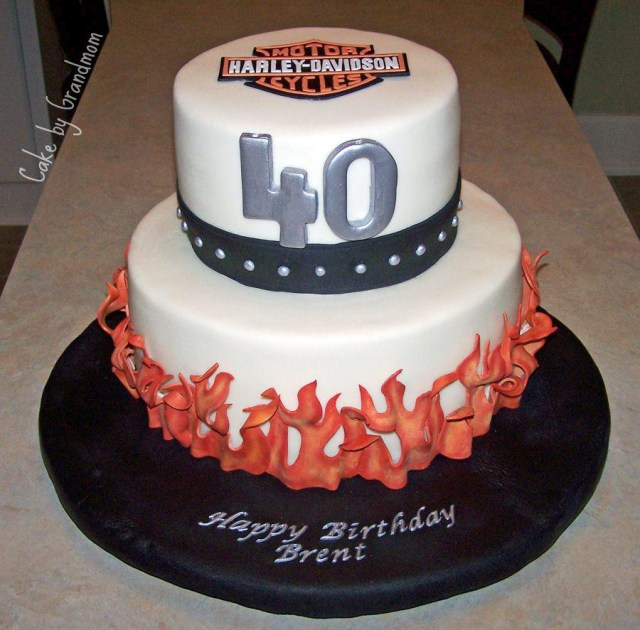 Mens Birthday Cakes 40th Cake Ideas And Recipes For Men Protoblogr Design