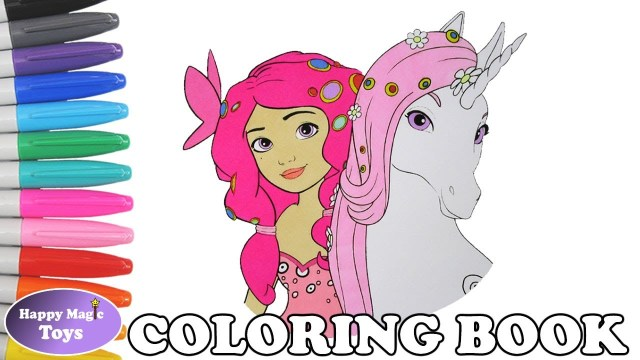 Mia And Me Coloring Pages Mia And Me Coloring Book Pages Mia And Lyria Coloring Book Page Mia