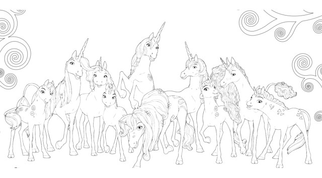 Mia And Me Coloring Pages Mia And Me Free To Color For Kids Mia And Me Kids Coloring Pages