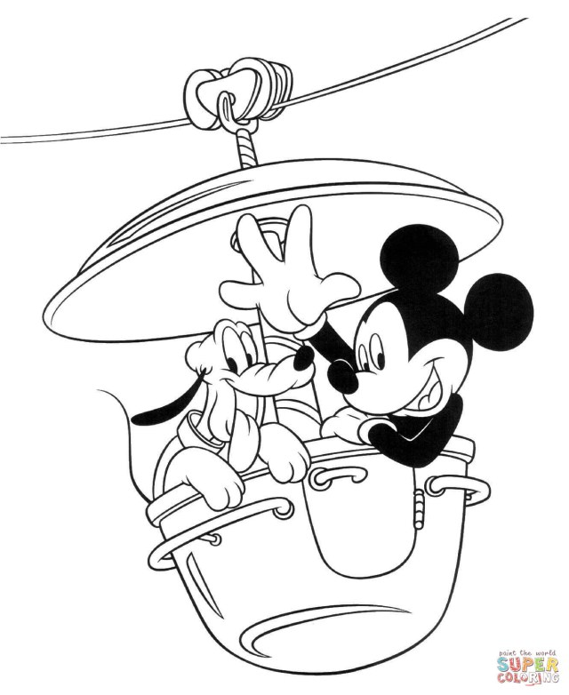 Mickey Mouse Coloring Pages Mickey Mouse Coloring Pages Free Coloring Pages