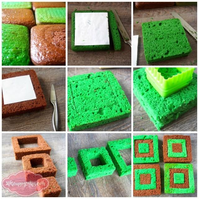 Minecraft Birthday Cake How To Make The Ultimate Light Up Minecraft Birthday Cake