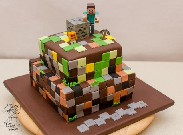 Minecraft Birthday Cake Minecraft Birthday Cake Olisons Cupcakes