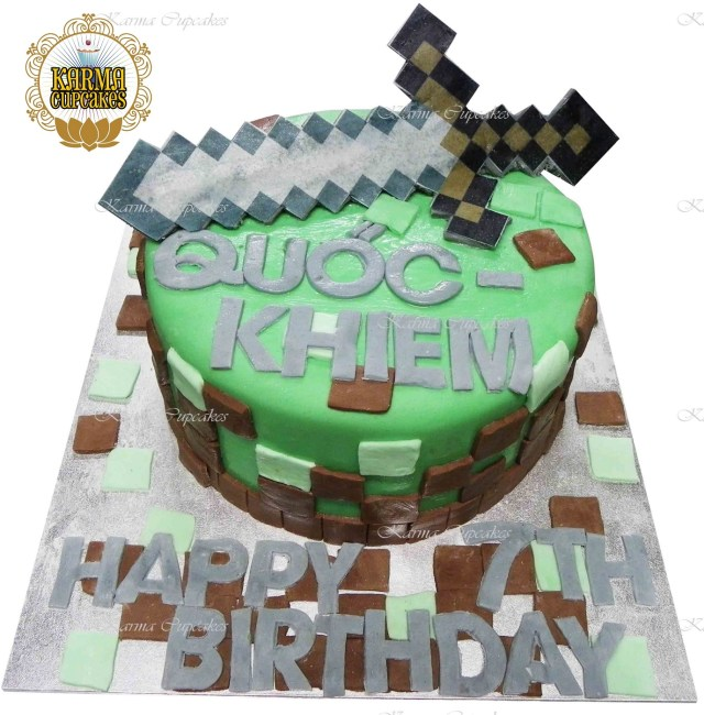Minecraft Birthday Cake Minecraft Cake