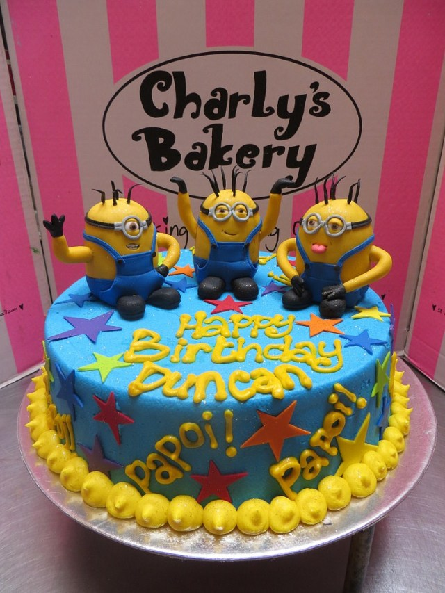 Minion Birthday Cake Images Minion Birthday Cake Charlys Bakery Flickr