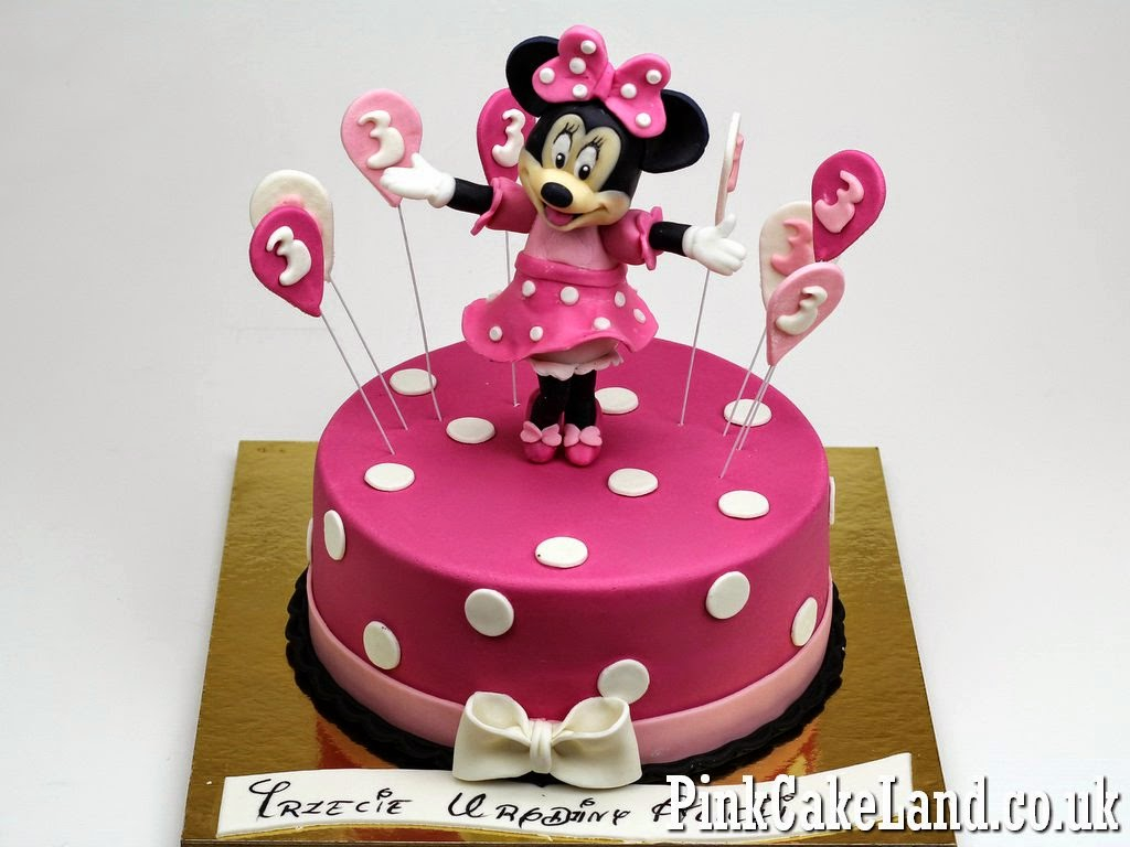 Tremendous Minnie Mouse Birthday Cakes Mickey Minnie Mouse Cakes Birijus Com Funny Birthday Cards Online Alyptdamsfinfo