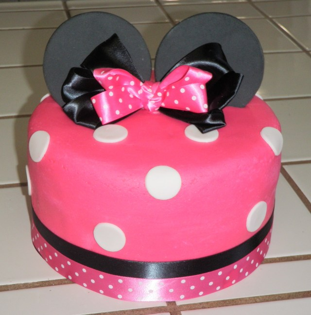 Minnie Mouse Birthday Cakes Minnie Mouse Birthday Cake 7 The Art Mad