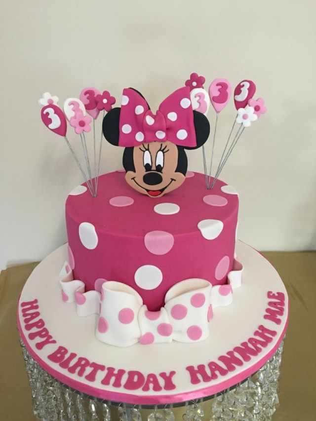 Minnie Mouse Birthday Cakes Novelty Cakes Melbourne