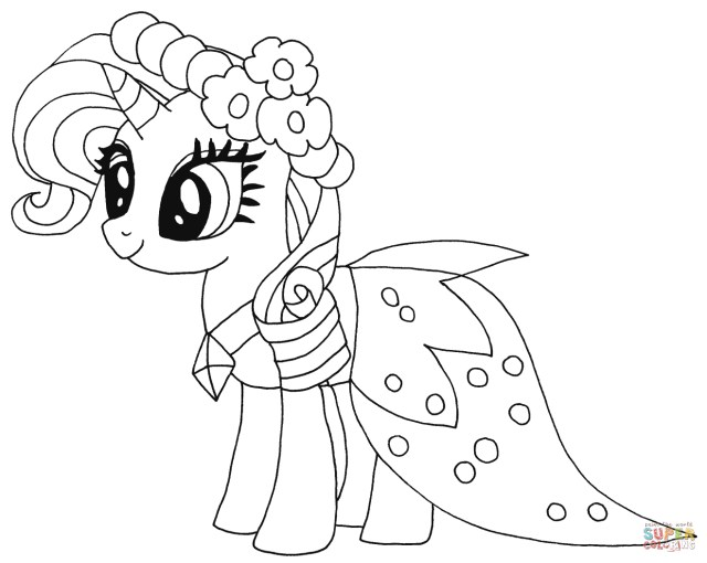 Mlp Coloring Pages My Little Pony Coloring Pages Free Coloring Pages