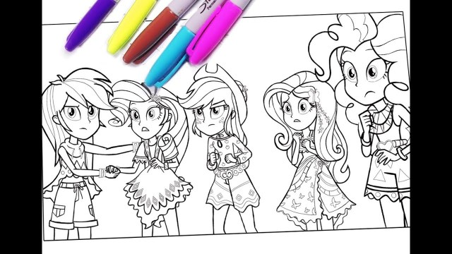Mlp Coloring Pages My Little Pony Coloring Pages Mlp Coloring For Kids Equestria Girls