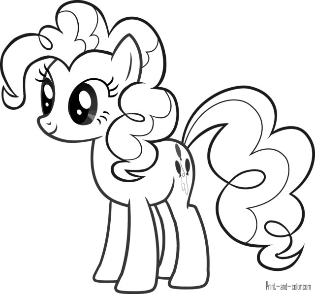 Mlp Coloring Pages My Little Pony Coloring Pages Print And Color