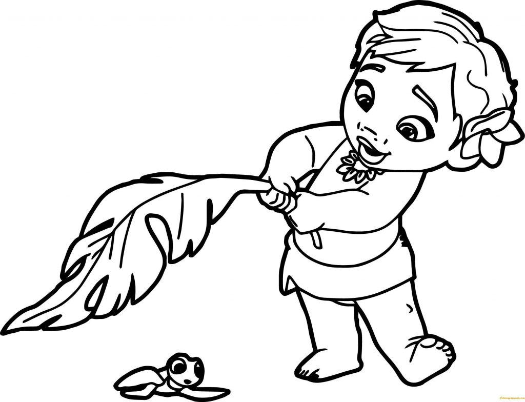 image relating to Moana Printable Coloring Pages named Moana Printable Coloring Internet pages Coloring Web pages Absolutely free Printable