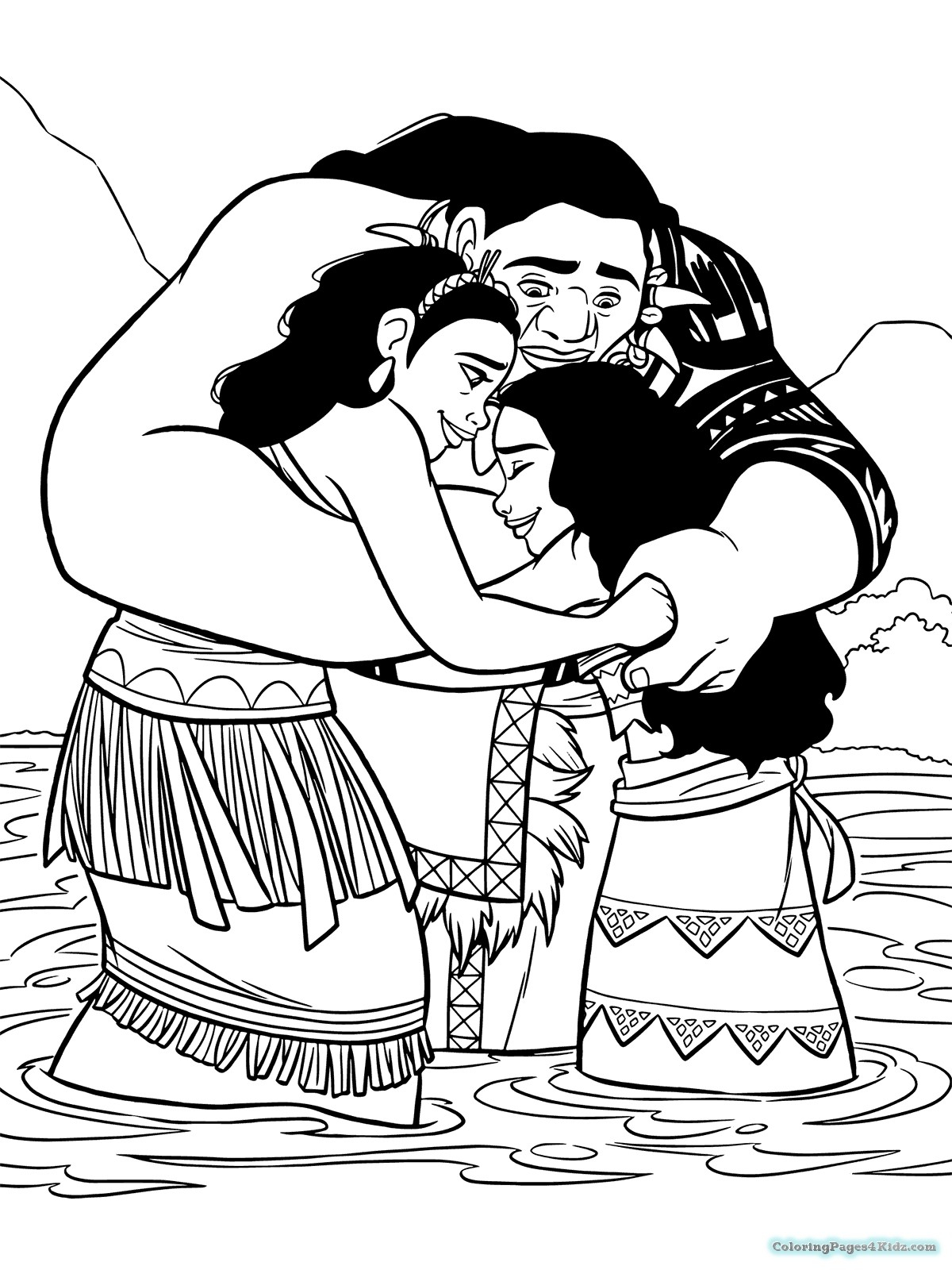 picture regarding Free Printable Moana Coloring Pages called Moana Printable Coloring Webpages The Truth of the matter Above Moana