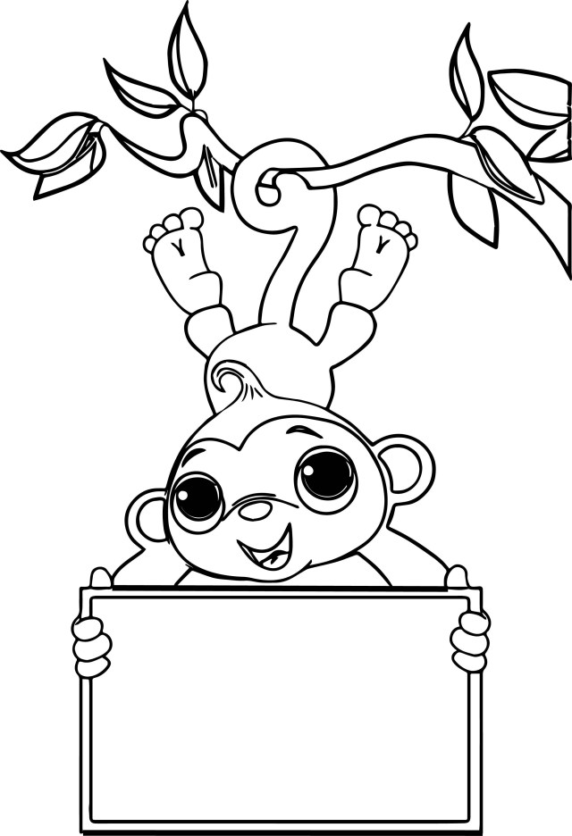 Monkey Coloring Pages Monkey Color Page Coloring Pages Refrence Bros 25003660 Attachment