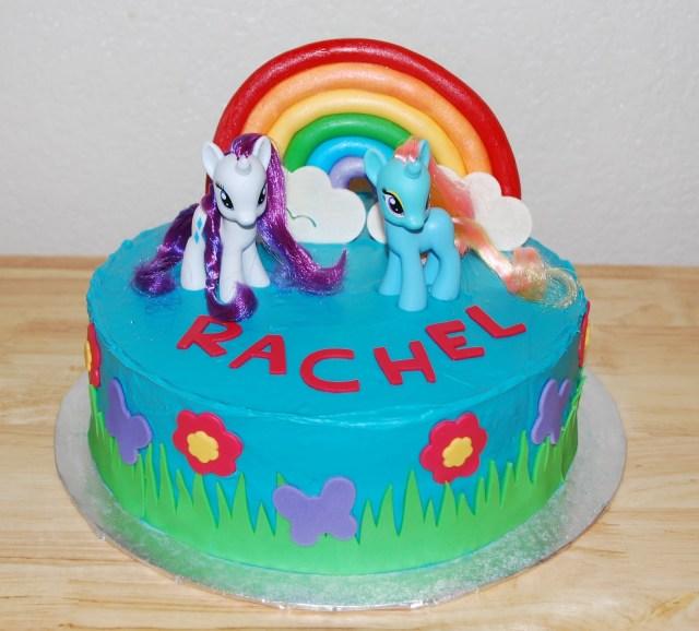 My Little Pony Birthday Cake Mlp Birthday Cakes