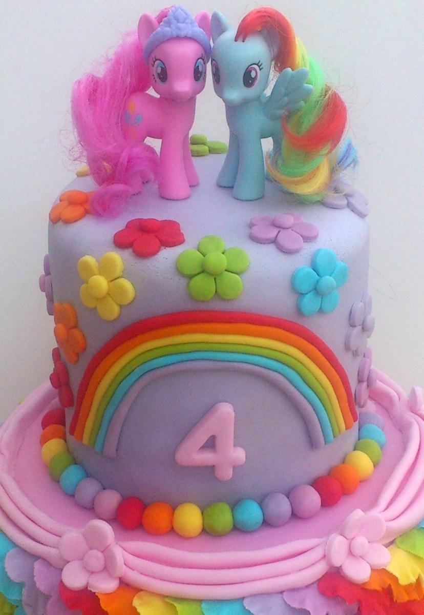 Wondrous My Little Pony Birthday Cake My Little Pony Birthday Cakes Ideas Funny Birthday Cards Online Eattedamsfinfo