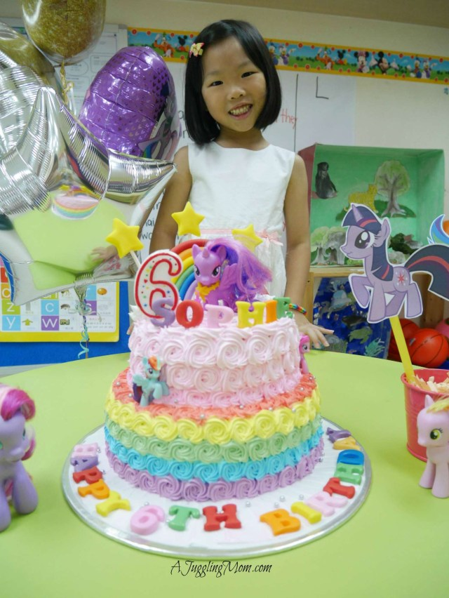 My Little Pony Birthday Cake Sophie Turns 6 My Little Pony Birthday Party Friendship Is Magic
