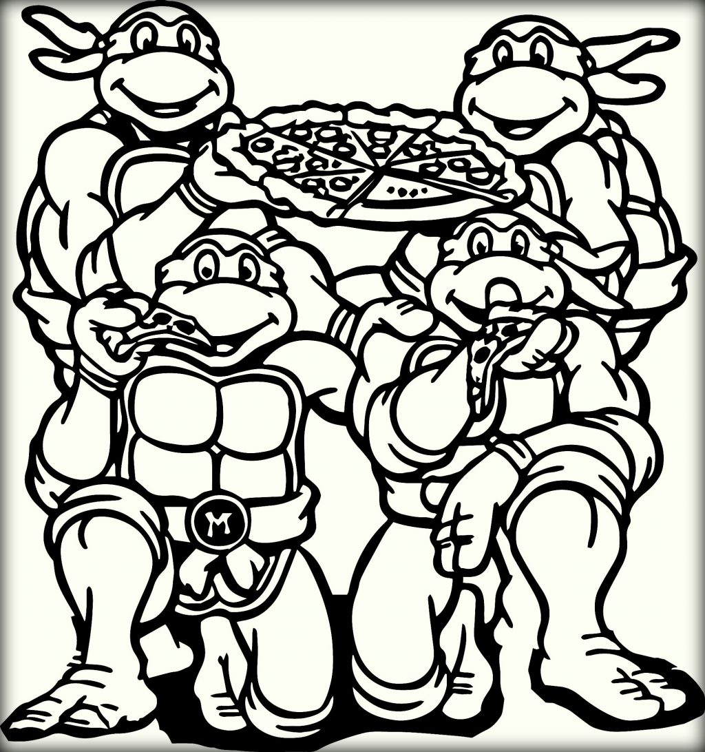 Pizza Coloring Pages Printable - Coloring Home | 1092x1024