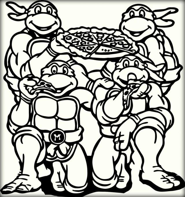 21+ Amazing Photo of Ninja Turtles Coloring Pages - birijus.com