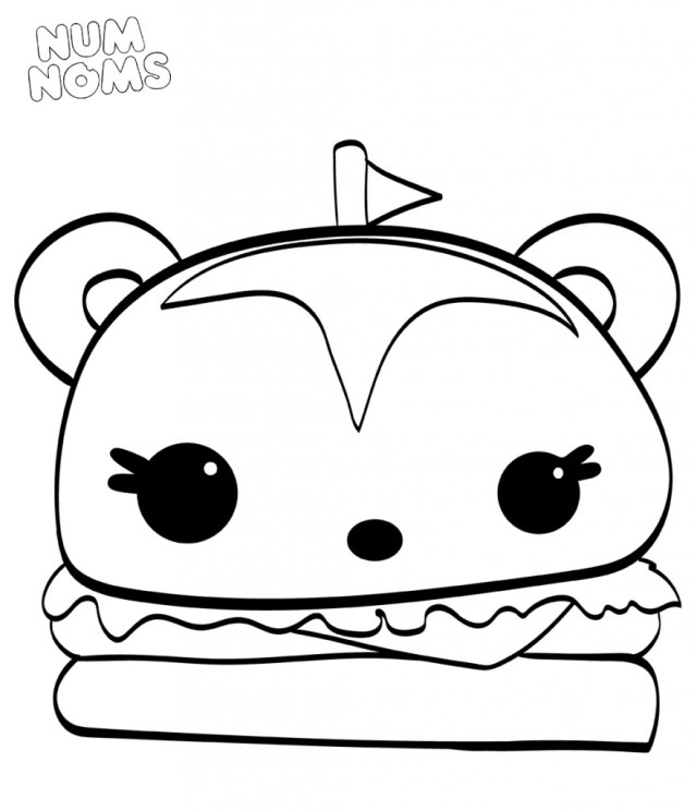 Num Nom Coloring Pages Hammy Coloring Pages Inspirational Num Nom Coloring Pages Beautiful