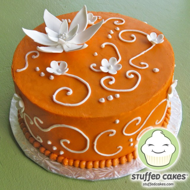Orange Birthday Cake Orange Birthday Cakes