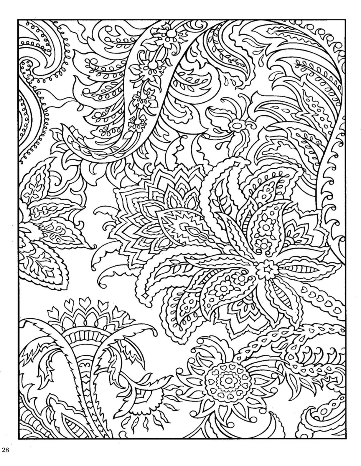 picture regarding Printable Adult Coloring Pages Paisley known as 25+ Wonderful Picture of Paisley Coloring Web pages -