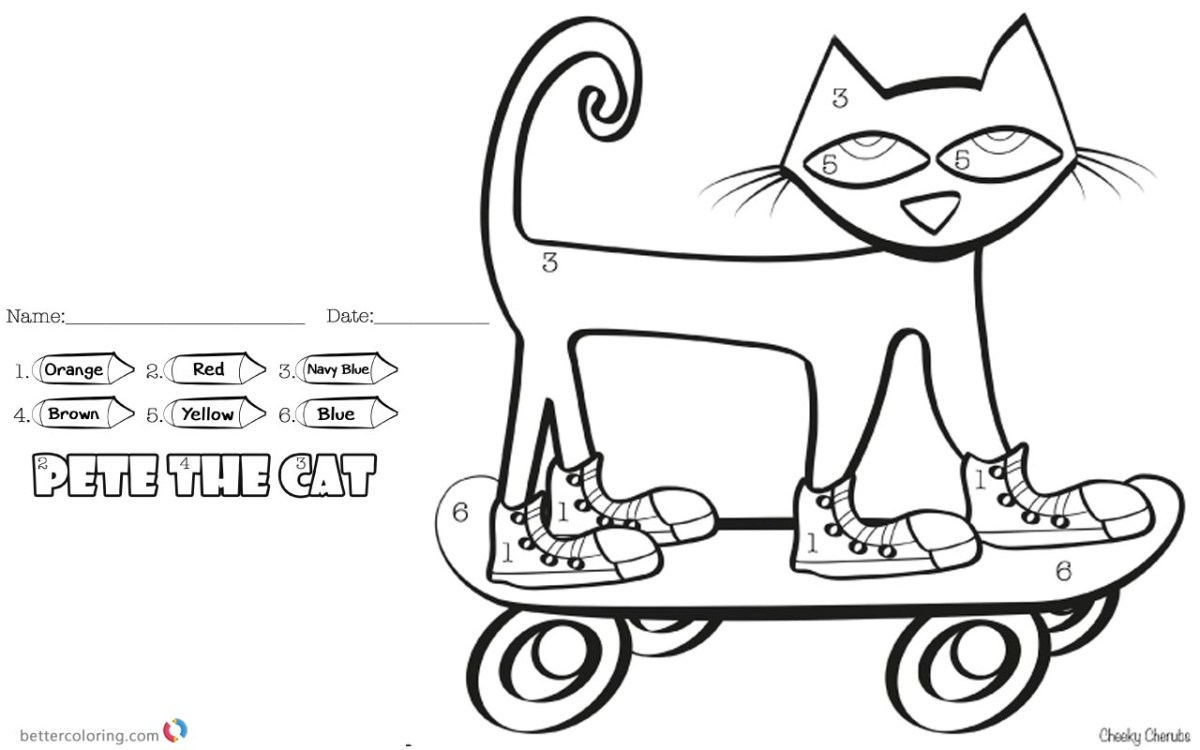 Pete The Cat Coloring Page Pete The Cat Coloring Page Ncpocketsofresistance Birijus Com