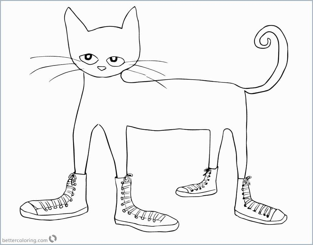 image relating to Pete the Cat Printable identified as Pete The Cat Coloring Site Pete The Cat Coloring Web site Beautiful