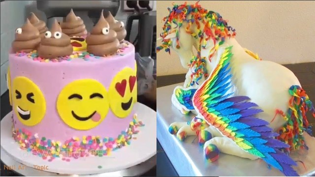 Pictures Of Birthday Cakes For Adults Top 20 Amazing Birthday Cake Decorating Ideas Oddly Satisfying