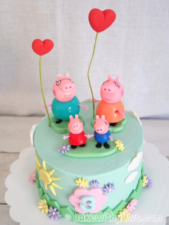 Incredible 25 Great Image Of Pig Birthday Cake Birijus Com Birthday Cards Printable Inklcafe Filternl