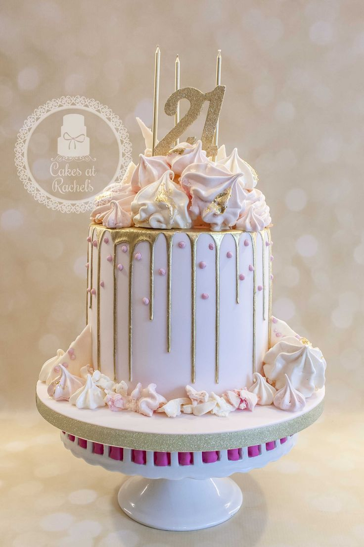 Fabulous Pinterest Birthday Cakes Pastel Pink And Gold Drip Cake For Funny Birthday Cards Online Hendilapandamsfinfo