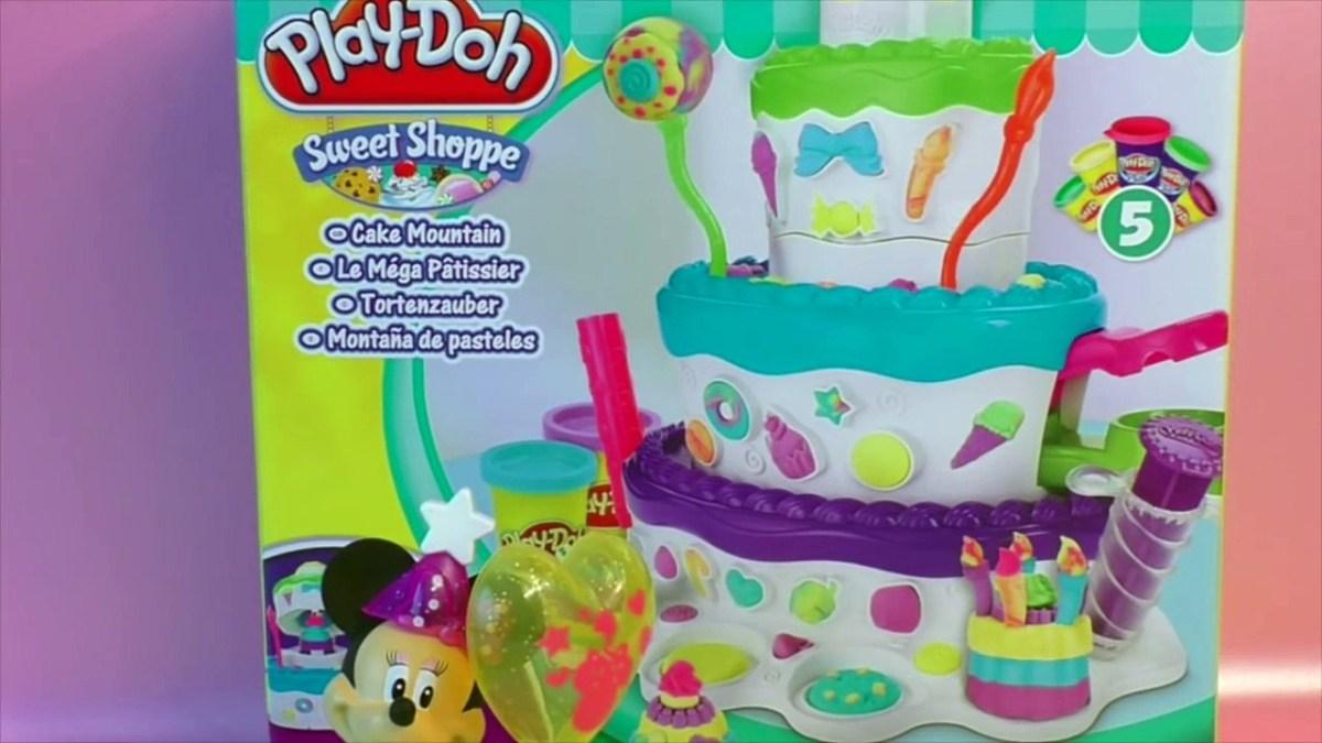 Incredible Play Doh Birthday Cake Play Doh Cake Playset Playdoh Playdough Personalised Birthday Cards Veneteletsinfo