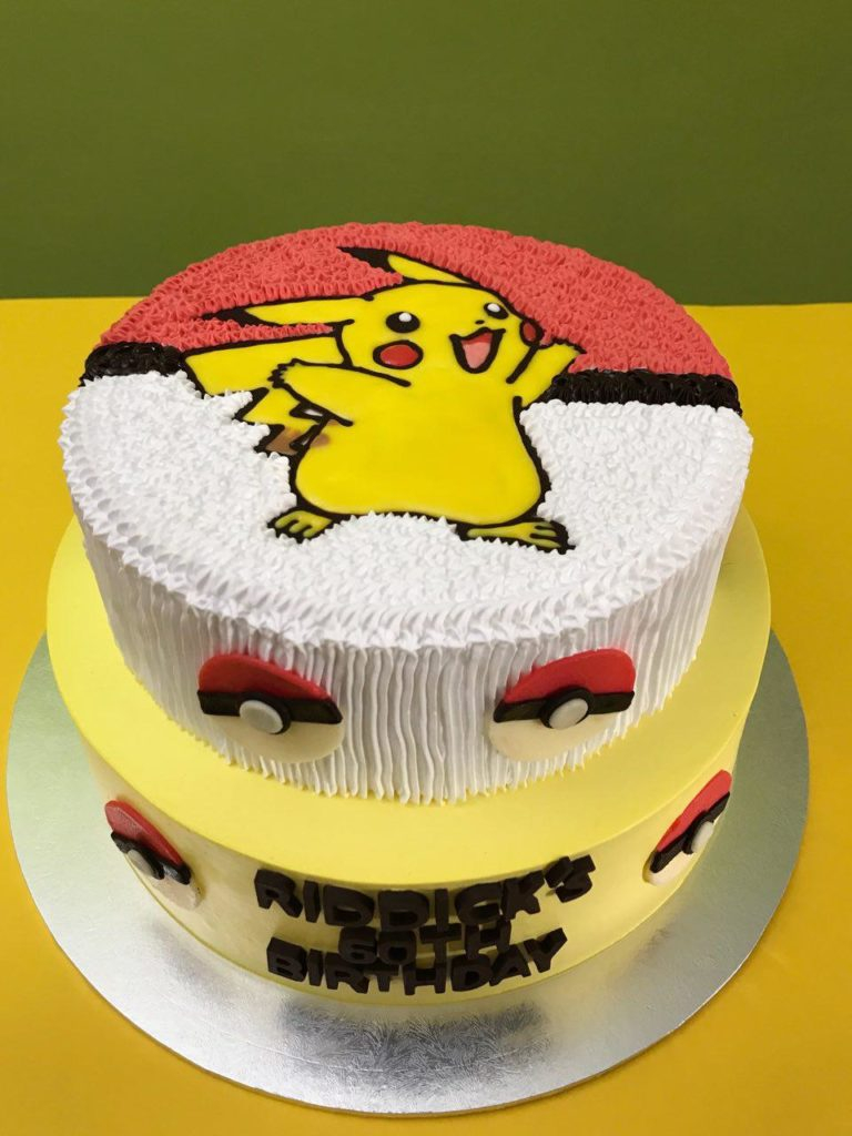 Miraculous Pokemon Birthday Cakes Pokemon Cakes Singapore Favourite Childhood Personalised Birthday Cards Bromeletsinfo