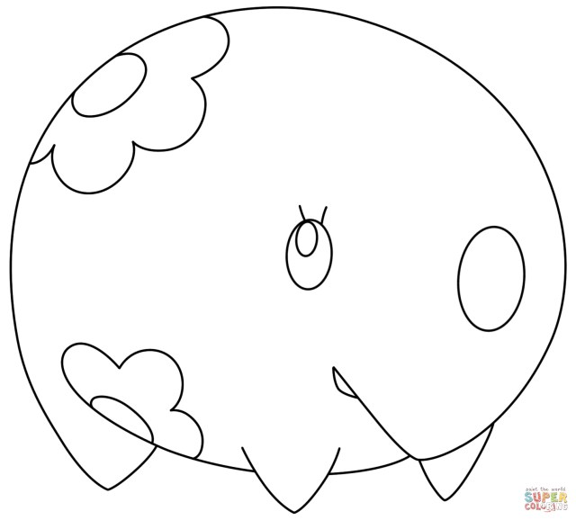 Powerhouse Pokemon Coloring Pages To Print | YesColoring | Free | 578x640