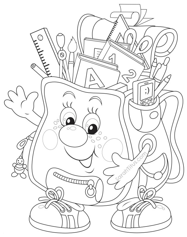 Pre K Coloring Pages Kindergarten Back To School Coloring Pages Free For Printable