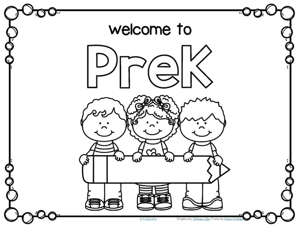 Preschool Coloring Pages Preschool Coloring Pages And Worksheets Coloringrocks
