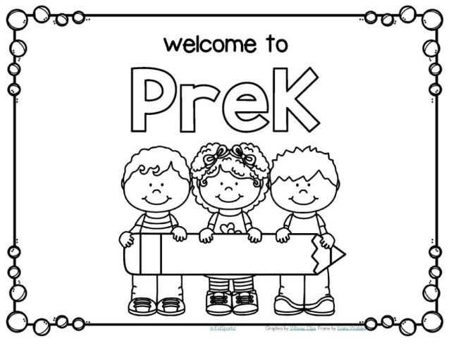 Preschool Coloring Pages Preschool Coloring Pages And Worksheets Coloringrocks