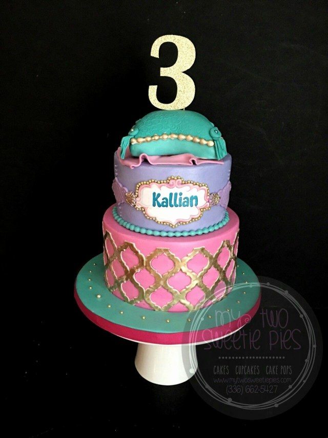 Princess Jasmine Birthday Cake Aladdin E Jasmine Elegante Princess Jasmine Birthday Cake Ideas Best