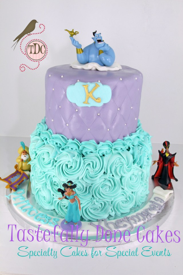 Princess Jasmine Birthday Cake Tastefully Done Disney Jasmine Aladdin Cake Birthday Ideas